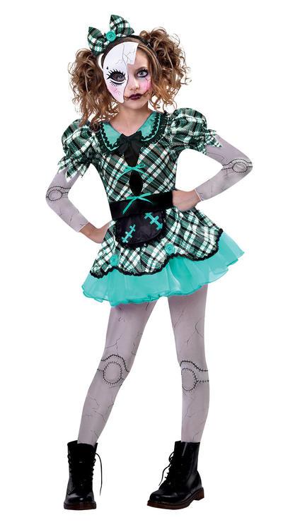 Dark Doll Girls Costume