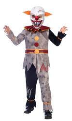Evil Clown Kids Costume