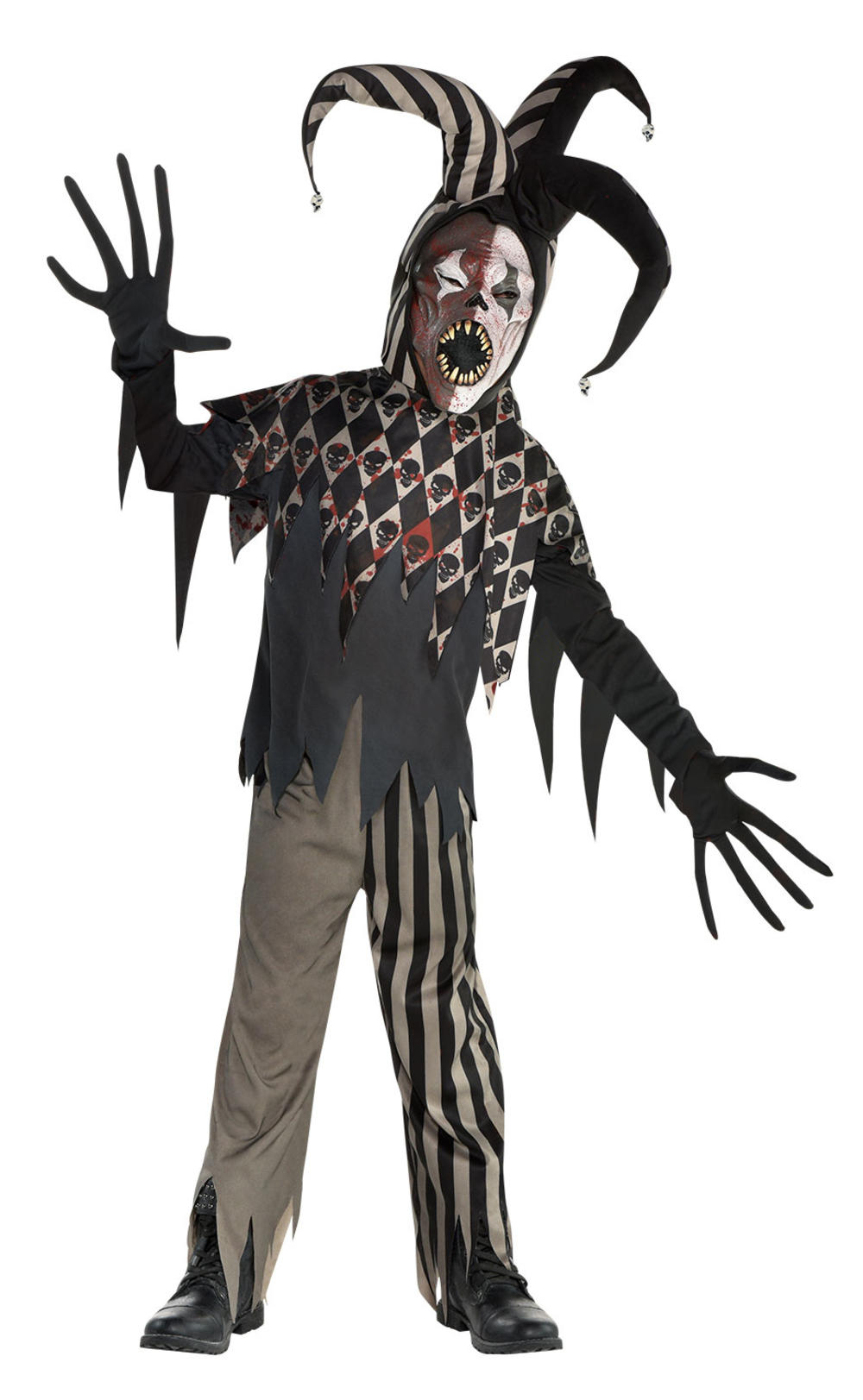 Twisted Jester Boys Costume
