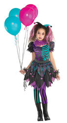 Haunted Harlequin Girls Costume