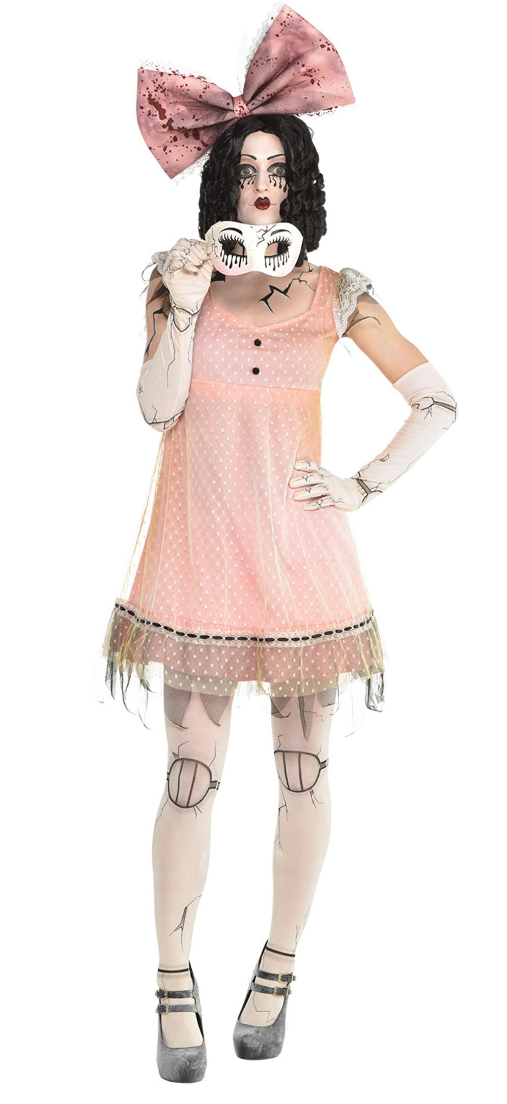 Creepy Doll Ladies Costume
