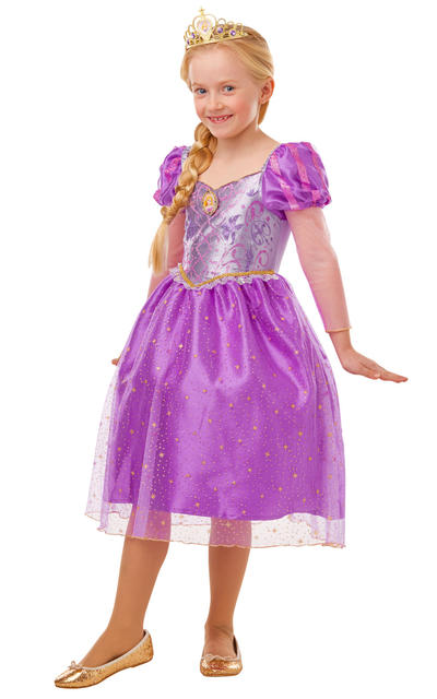 Glitter and Sparkle Rapunzel Girls Costume