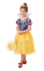 Glitter and Sparkle Snow White Girls Costume