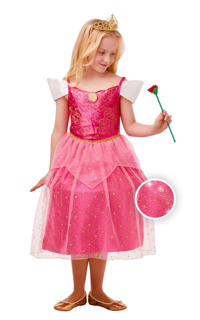 Glitter and Sparkle Aurora Girls Costume