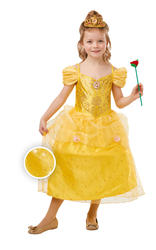 Glitter and Sparkle Belle Girls Costume