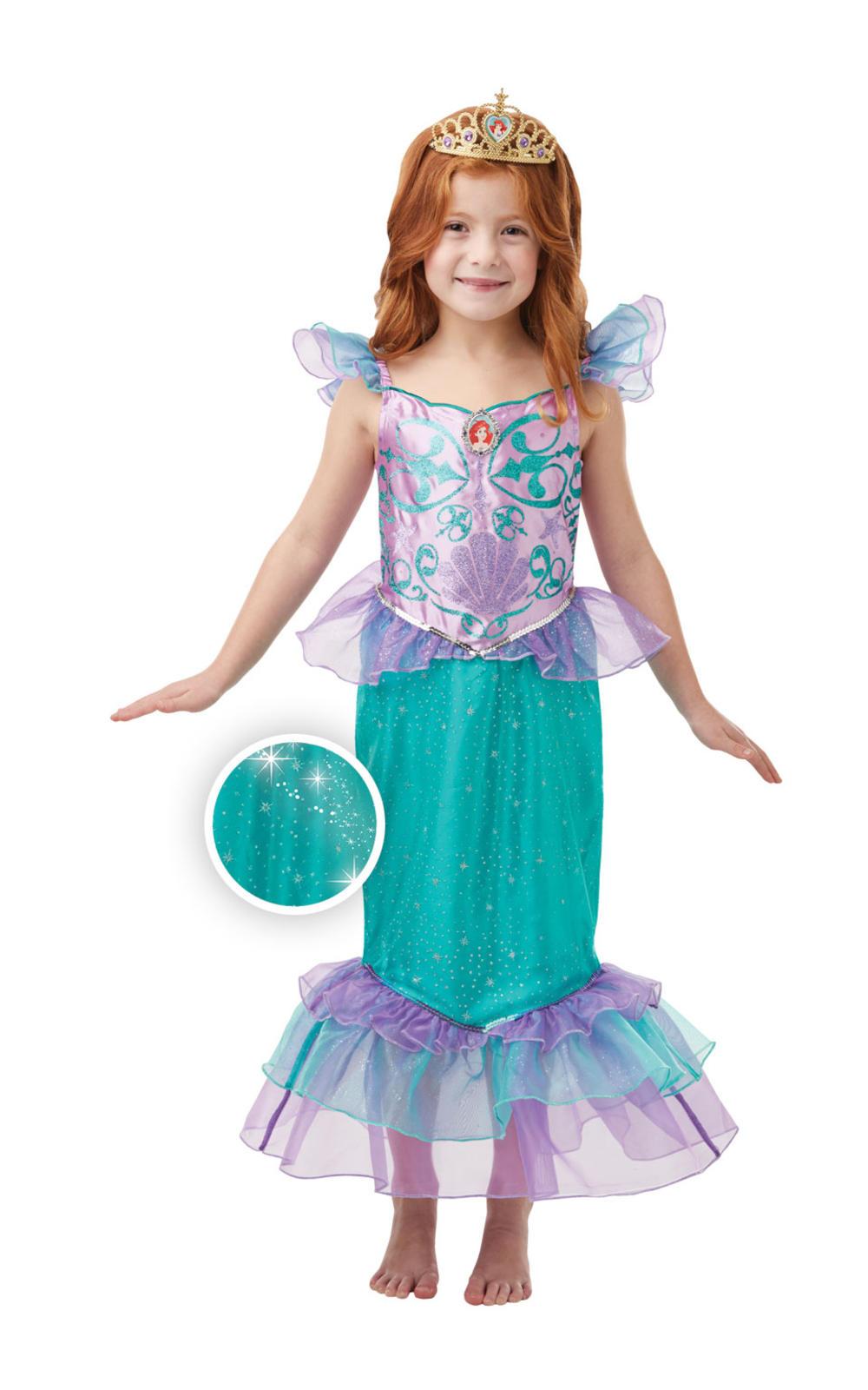 Glitter and Sparkle Ariel Girls Costume