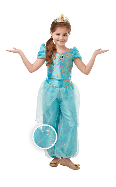 Glitter and Sparkle Jasmine Girls Costume