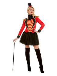 Deluxe Ringmaster Ladies Costume