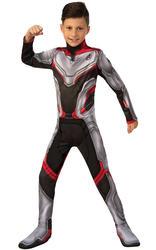 Avengers Team Suit Kids Costume