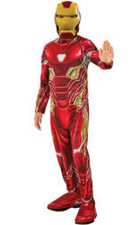 Iron Man Mark 50 Suit Boys Costume