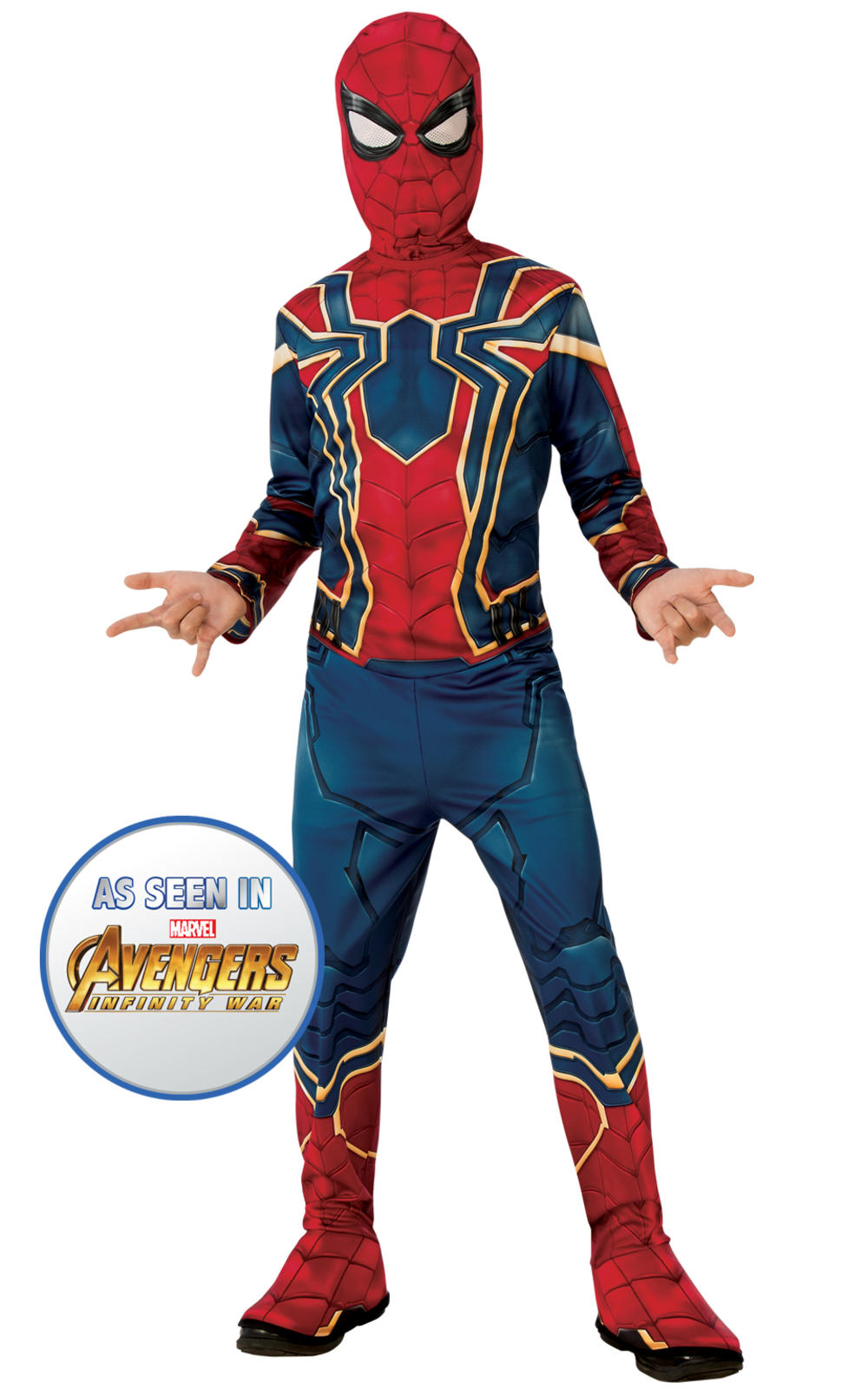 Iron Spider Boys Costume