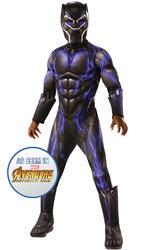 Black Panther Purple Battle Suit Boys Costume