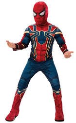 Deluxe Iron Spider Boys Costume