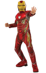 Deluxe Iron Man Boys Costume