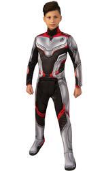 Deluxe Avengers Team Suit Kids Fancy Dress