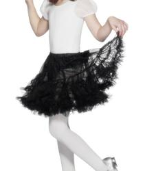 Girls Layered Black Petticoat