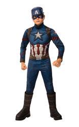 Deluxe Captain America Boys Costume