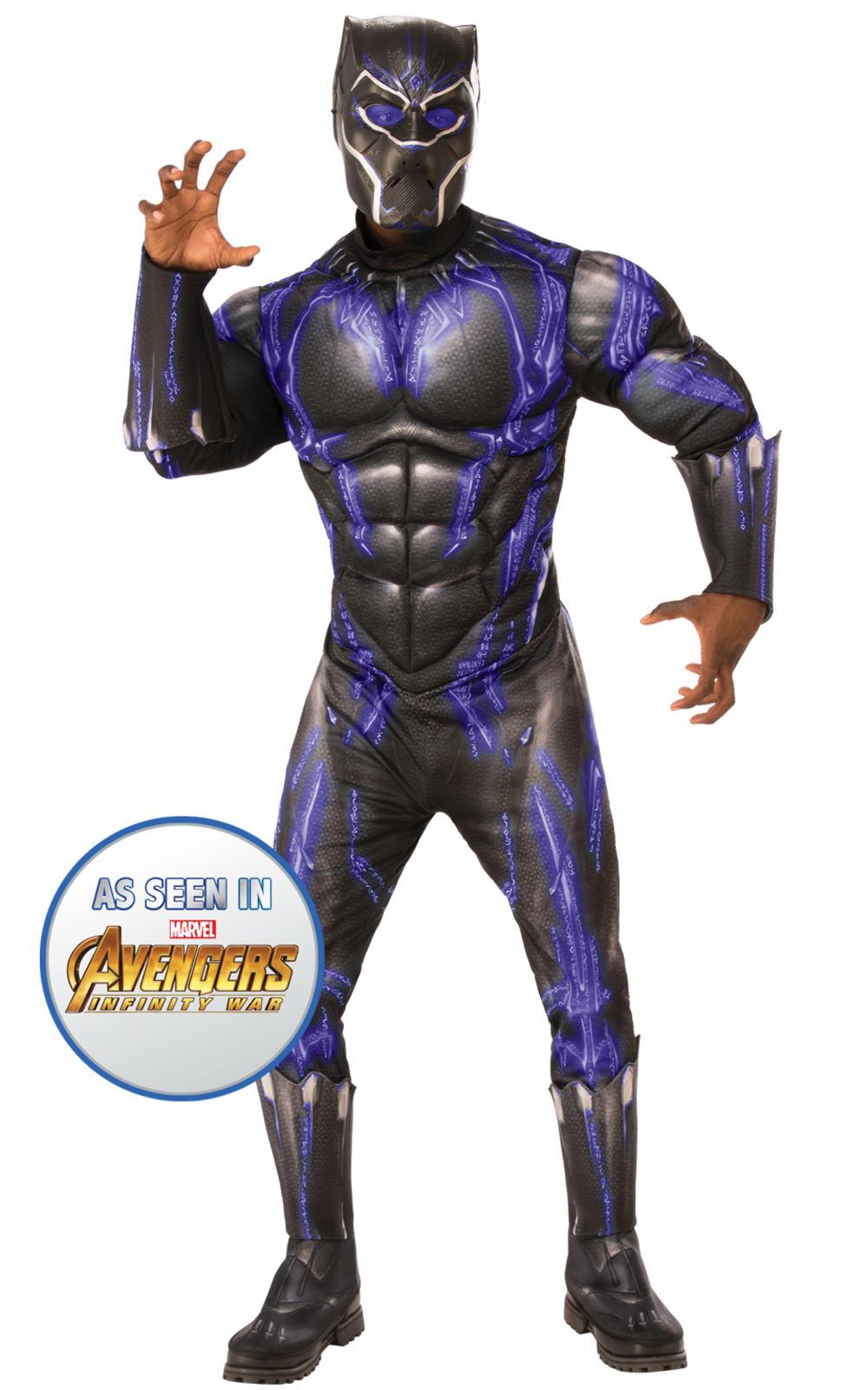 Black Panther Battle Suit Mens Costume