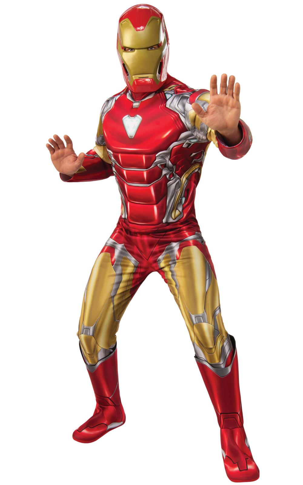 Deluxe Iron Man Mens Costume