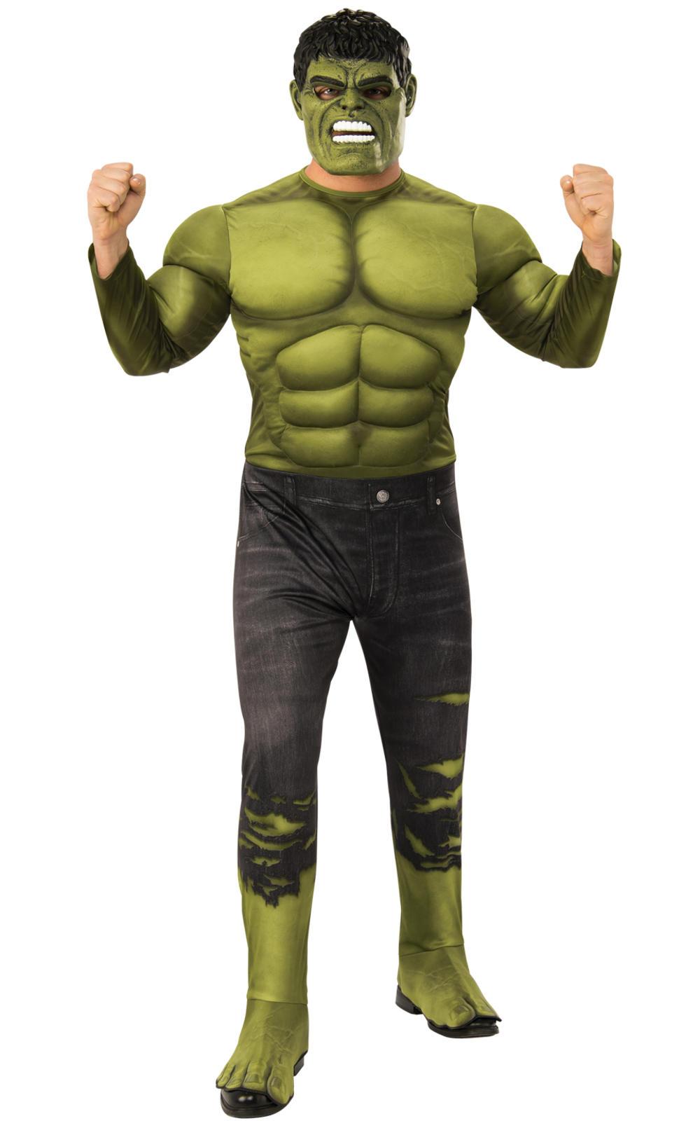 Deluxe Hulk Mens Costume