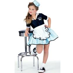 Girls 50s Car Hop Costume