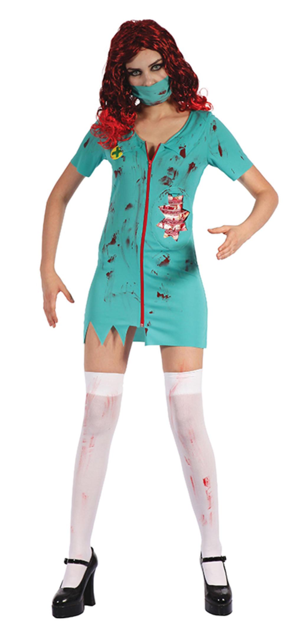 Zombie Surgeon Ladies Costume