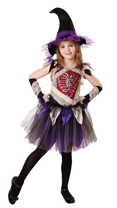 Zombie Witch Girls Costume