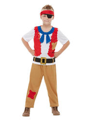Horrible Histories Pirate Crew Kids Costume