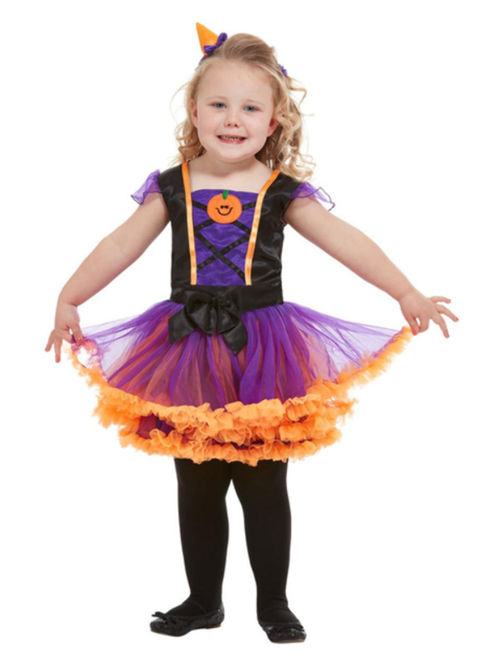 Toddler Pumpkin Witch Costume