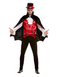 Vampire Mens Fancy Dress Costume