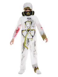 Biohazard Suit Boys Costume