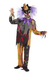 Scary Clown Boys Costume