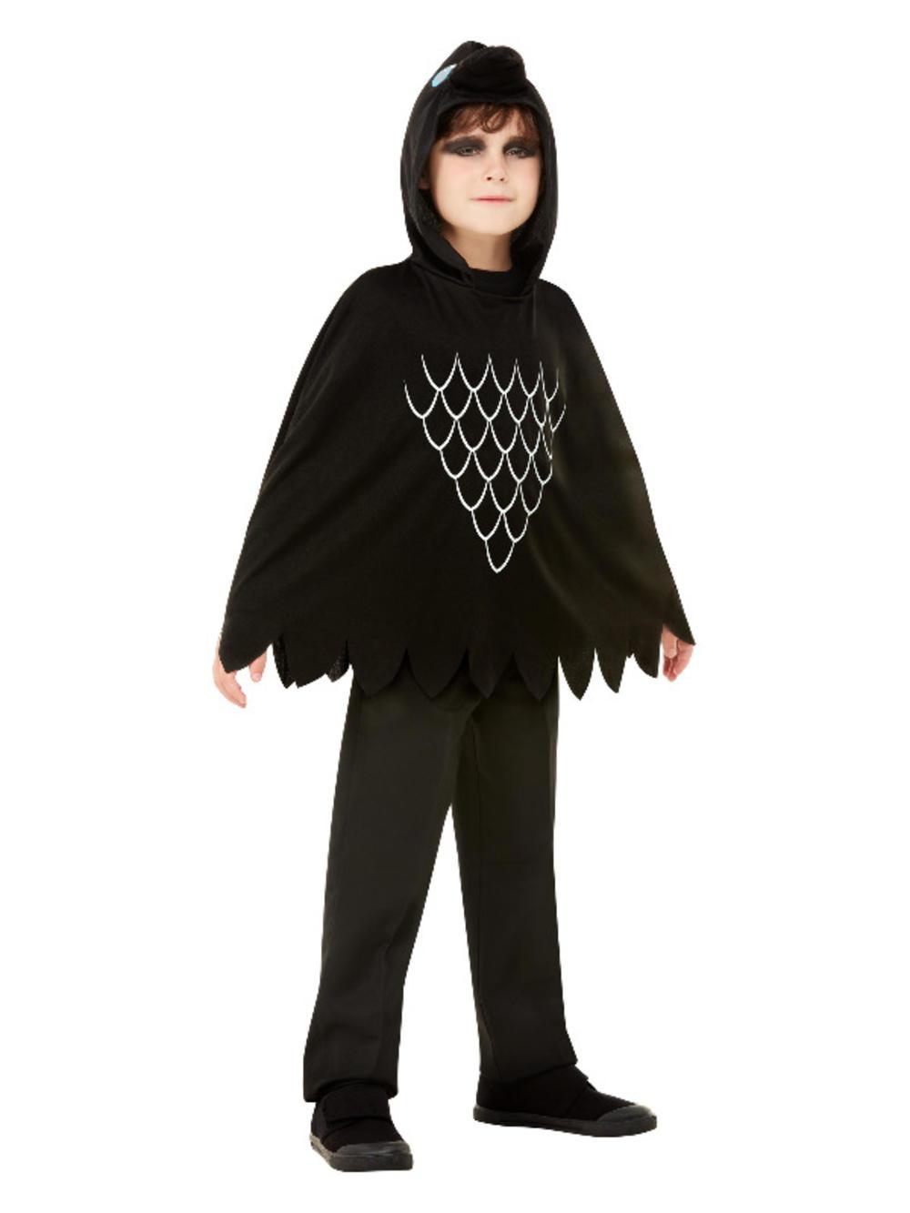 Kids Scary Crow Poncho