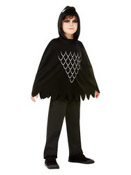 Kids Scary Crow Poncho