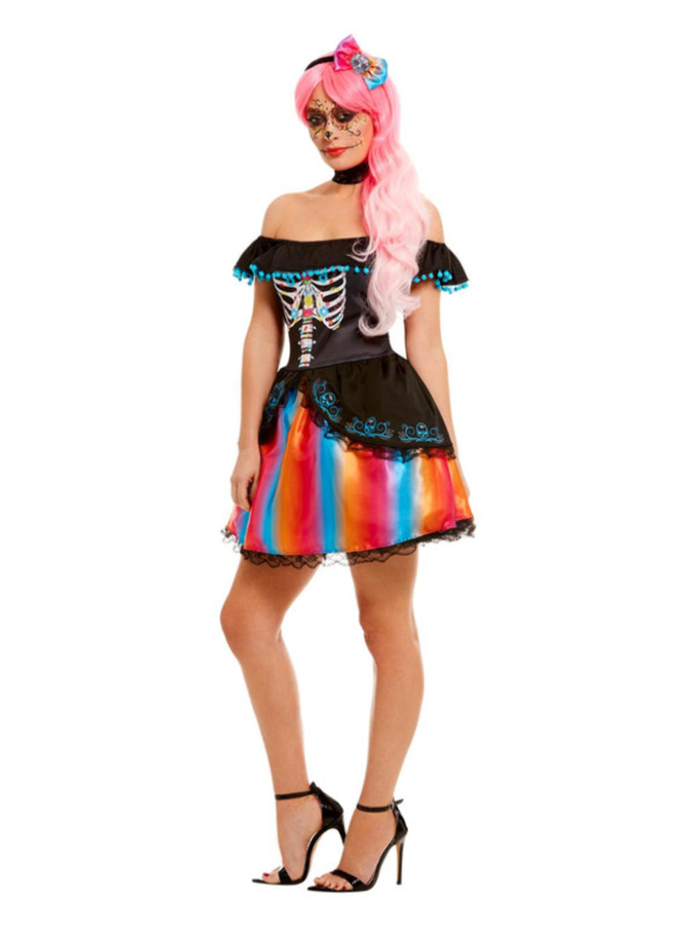 Day of the Dead Senorita Ladies Costume