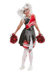 Zombie Cheerleader Ladies Costume