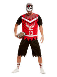 Zombie Footballer Mens Costume