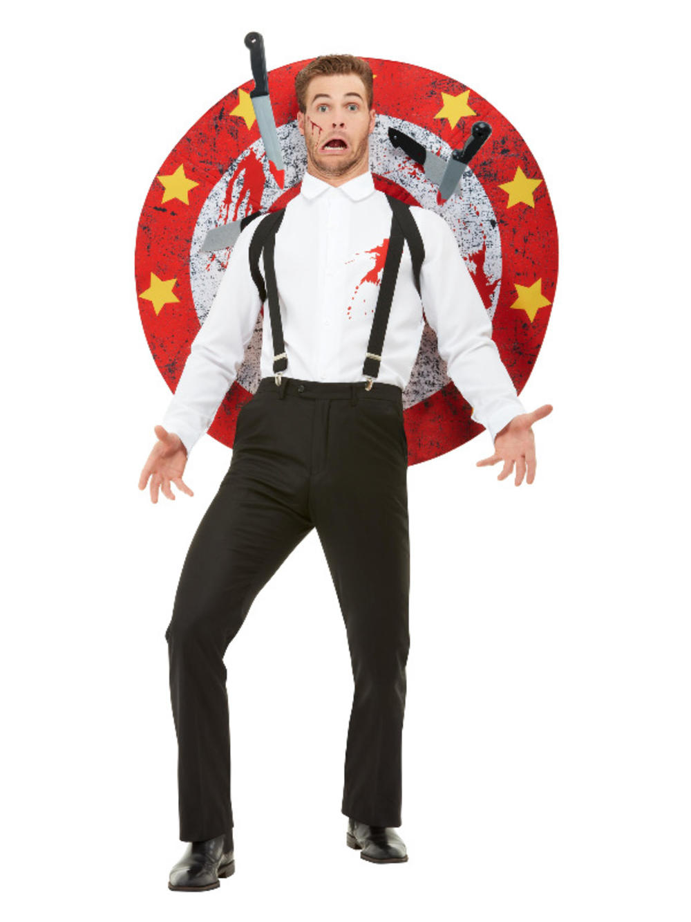 Deluxe Knife Thrower Mens Costume