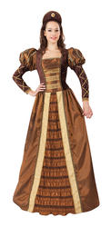 Golden Queen Ladies Costume
