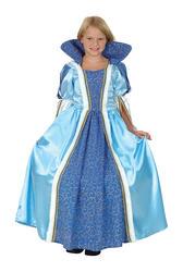 Blue Princess Girls Costume