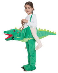Crocodile Step In Kids Costume