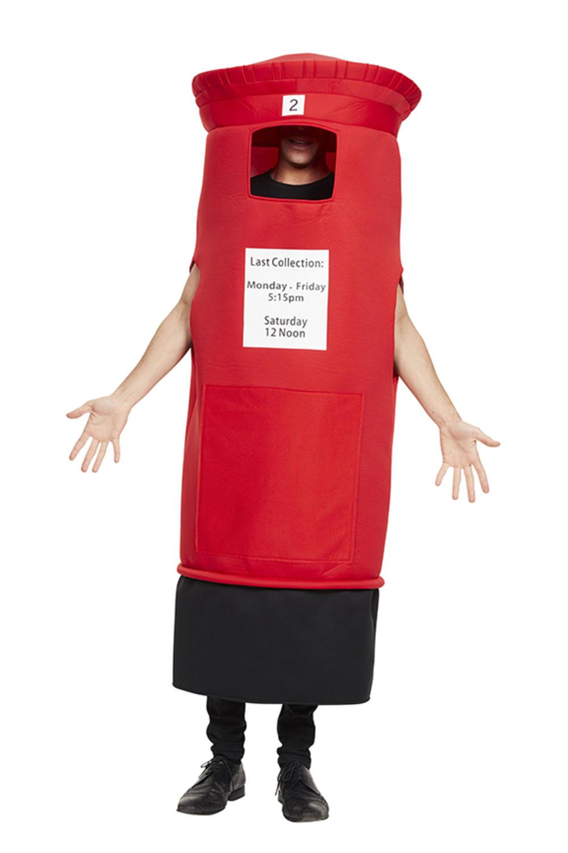 Adults Post Box Costume