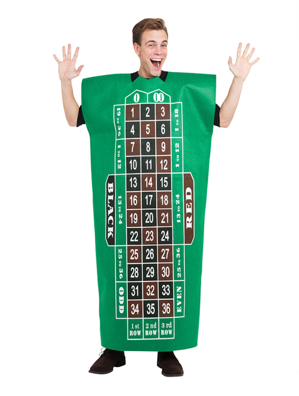 Adults Roulette Table Costume