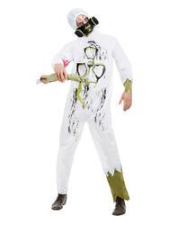 Biohazard Suit Mens Costume