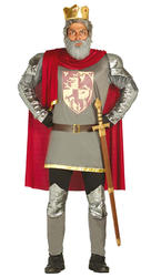 Lion Hearted King Mens Costume