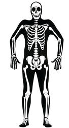 Skeleton Mens Costume