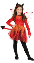 Girls Devil Fancy Dress