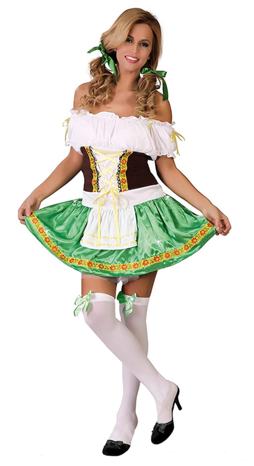 Bavarian Beer Maid Ladies Fancy Dress