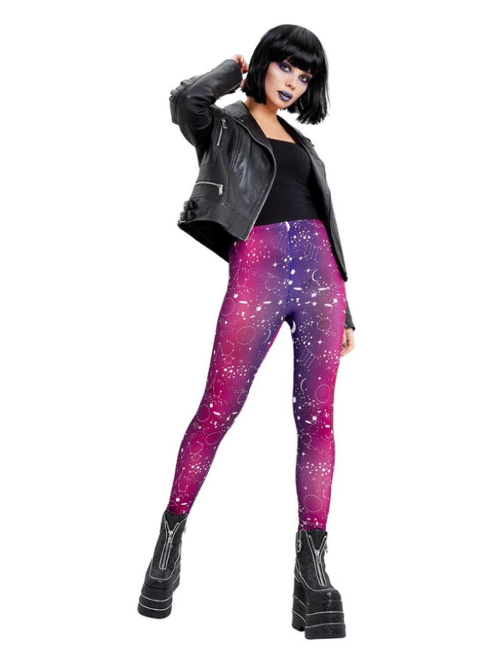 Galactic Print Leggings