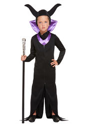 Evil Queen Girls Costume